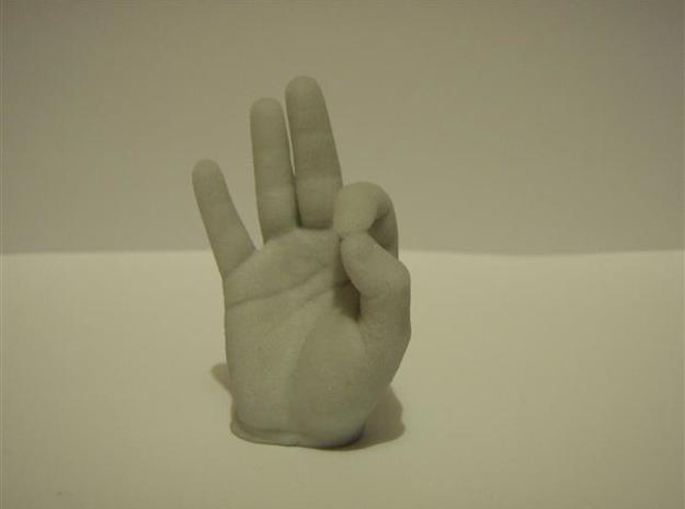 Hand 50mm in Sandstone