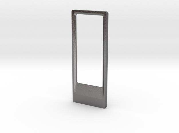 Bottle Opener Keyring in Polished Nickel Steel