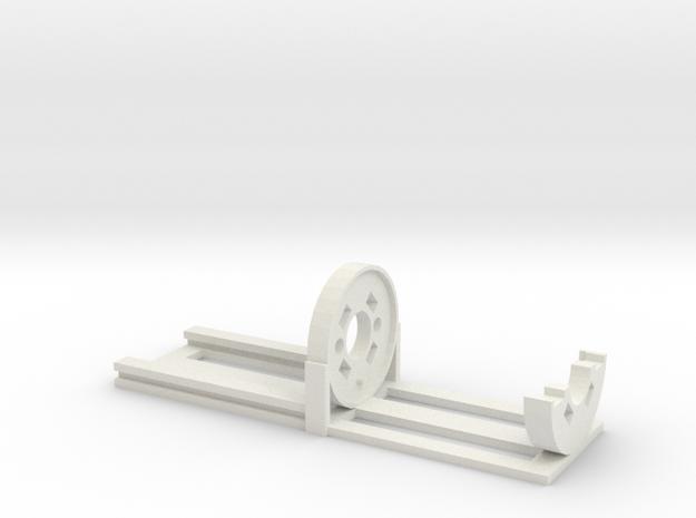 Jan23 2015 00 06 Rb Ban 228 Motor Mount in White Natural Versatile Plastic