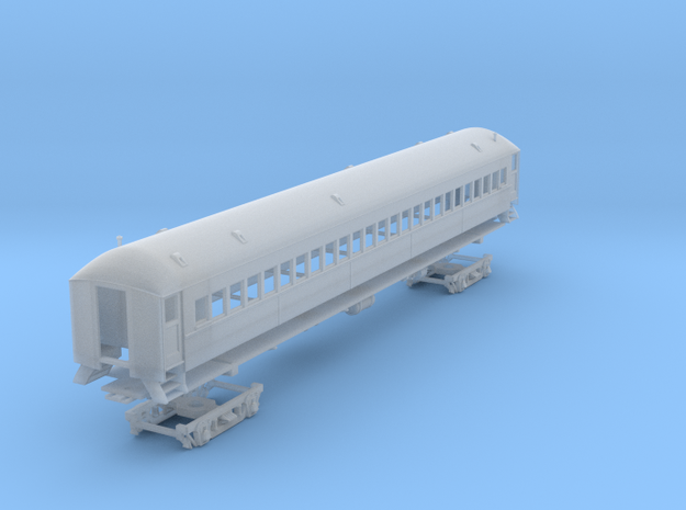 SP IC-72 suburban coach w/ alt roof vents (1/160) in Frosted Ultra Detail