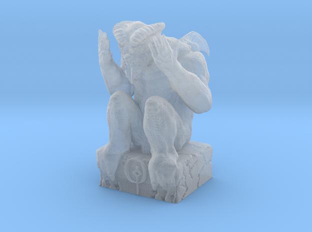 Grim Statuette  in Smooth Fine Detail Plastic