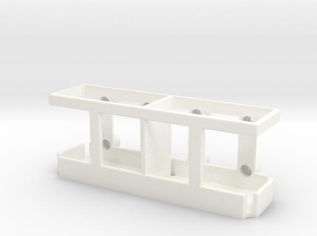 Halterung für 2Stk. Benzinkanister 1/10 in White Strong & Flexible Polished