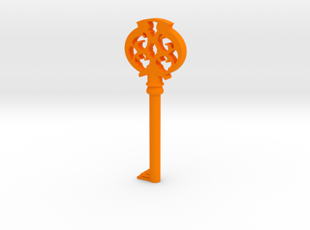 Pendant- Mombi's Ruby Key 3d printed