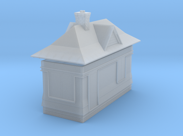CNR - Signal Box tool Shed (HO Scale) in Smooth Fine Detail Plastic