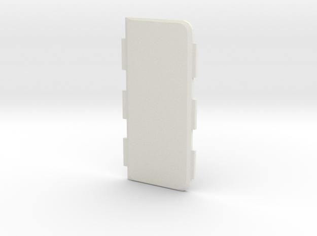 Mark VI Cover Standard in White Natural Versatile Plastic