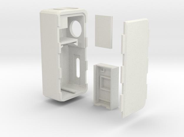 Box Mod MarkVI Dna 30/20 -no B.F.- (18350) in White Natural Versatile Plastic