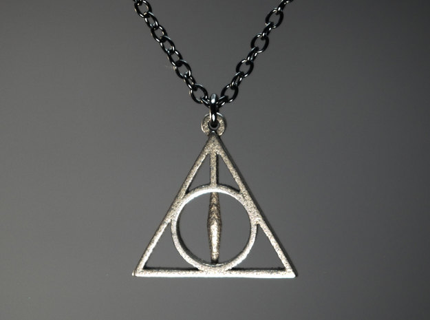 Deathly Hallows Pendant - Small - 5/8