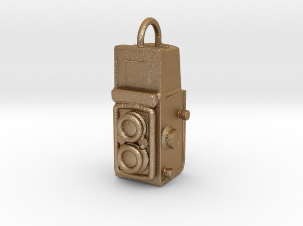 Twin-lens-pendant 3d printed