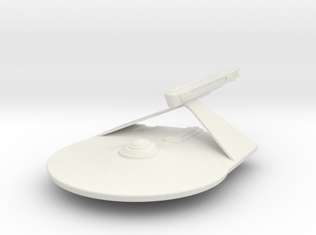 1/2500 Larson Destroyer  in White Natural Versatile Plastic