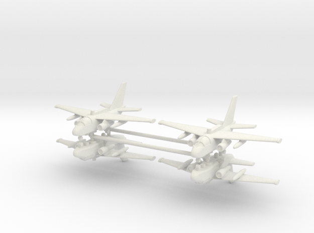 1/350 ES-3A Viking (x4) in White Natural Versatile Plastic