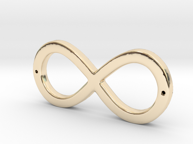 Infinity Sign in 14K Yellow Gold