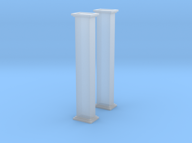 'N Scale' - Bucket Elevator-10' - Casing in Smooth Fine Detail Plastic