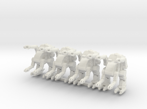 Labor Walker Platoon 6mm in White Natural Versatile Plastic
