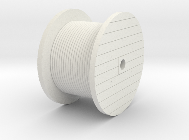 N Scale Cable Reel (Full)