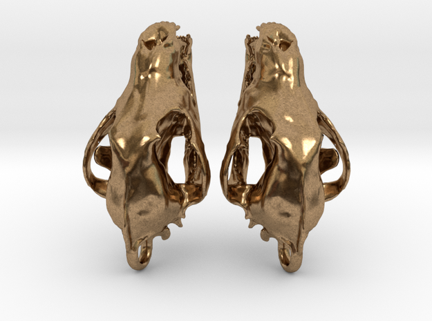 Wolf Skull Earrings