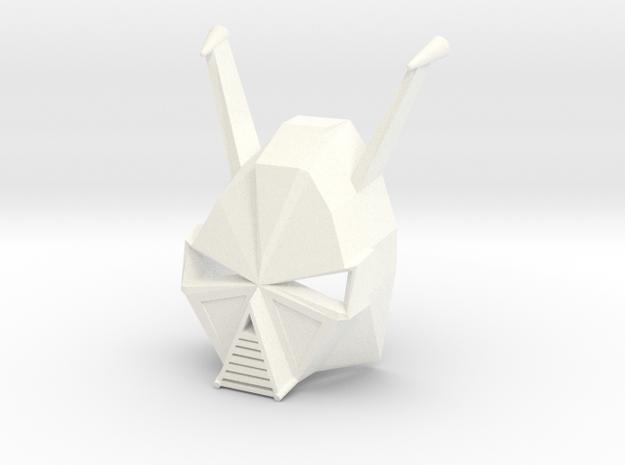 Kanohi Rapa - Mask of Elasticity (Bionicle) in White Strong & Flexible Polished