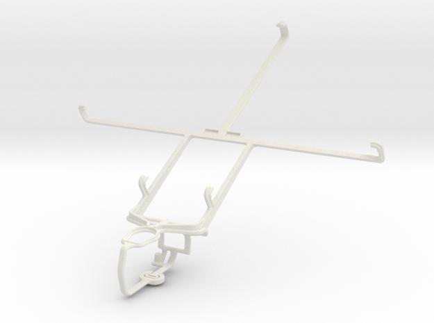 Controller mount for PS3 & Prestigio MultiPad 2 Ul in White Natural Versatile Plastic