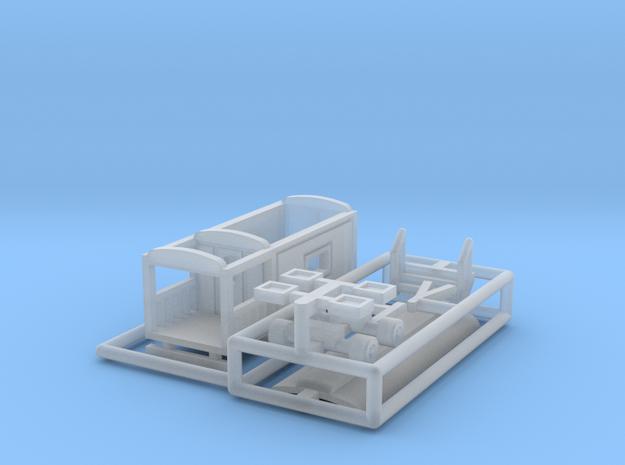 """""""Wahrsagerwagen"""" - 1:220 (Z scale) 3d printed"""
