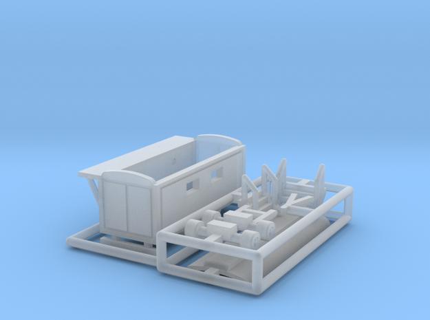 Toilettenwagen 2 - 1:220 (z scale) 3d printed