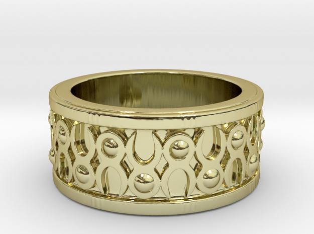 Minotaur Horn Ring 3d printed