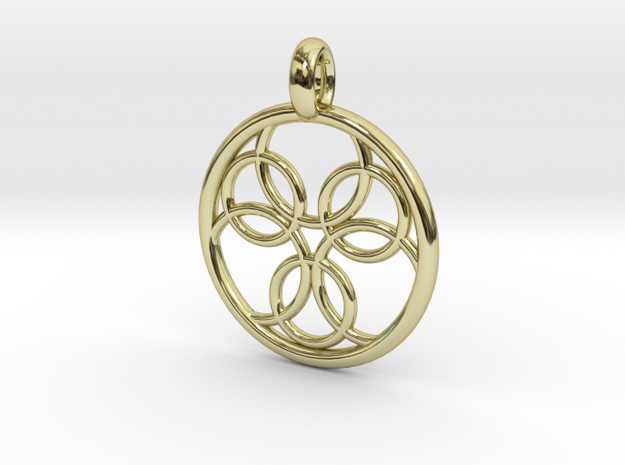 Pasithee pendant in 18K Gold Plated