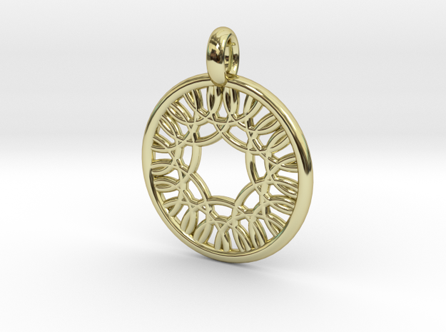 Herse pendant in 18K Gold Plated