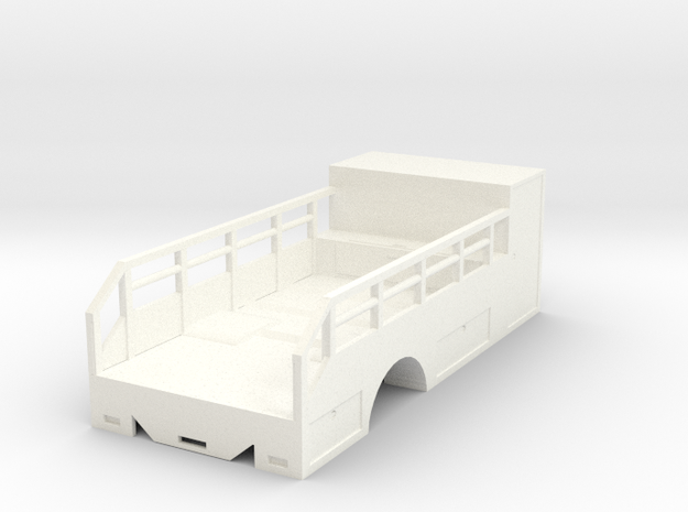 1/50th Scale Tire Service Truck Single axle Body