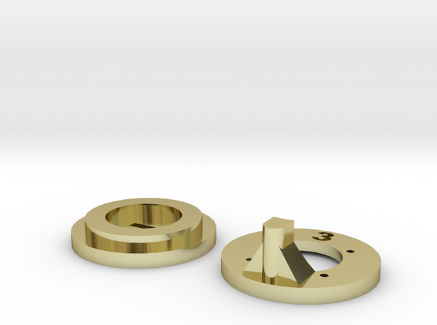 Inner & outer washers v3 3d printed
