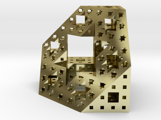 Étoile de Menger (petit) 3d printed