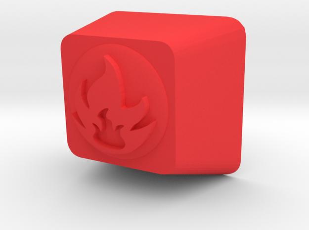Pokemon Fire Type Cherry MX Keycap