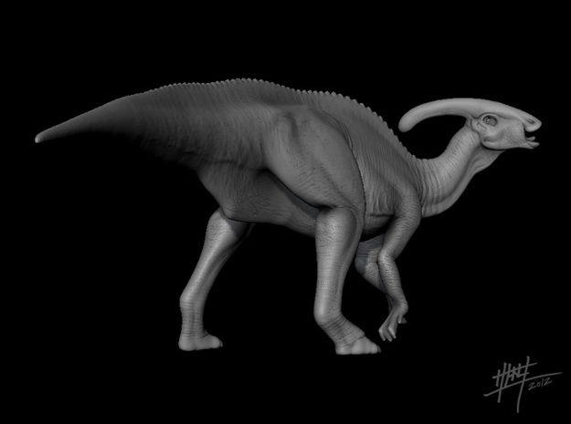 Parasaurolophus 1/72 3d printed
