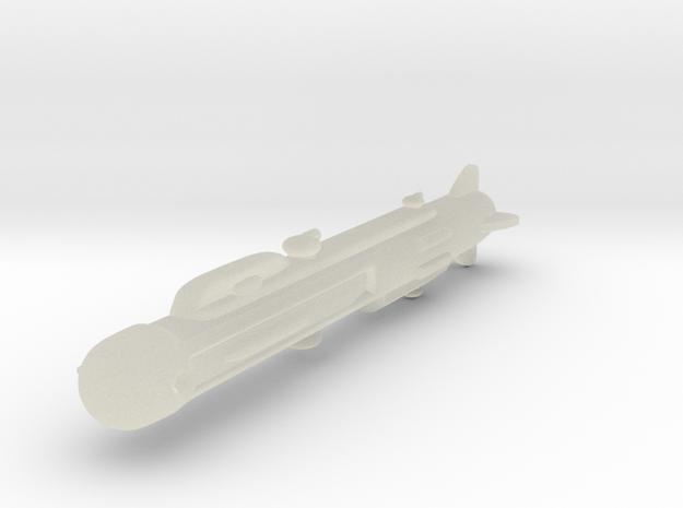 NuBlazers Ruskin Cruiser - Fleetscale 3d printed