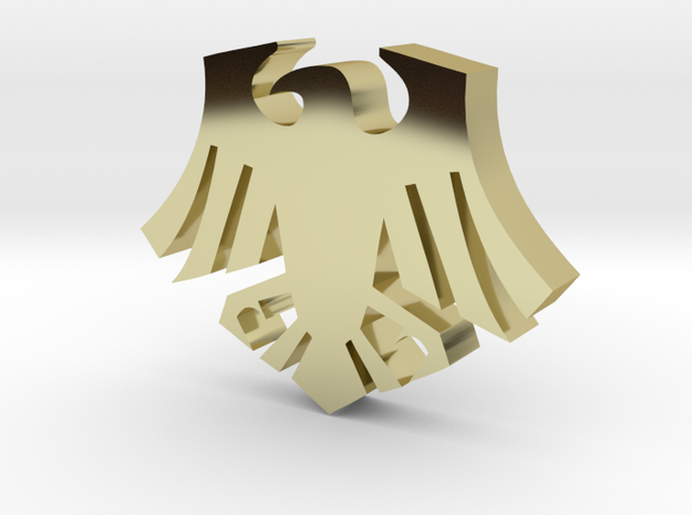 Raven 1cm (w) x .8cm(h) x 2mm(d) 3d printed