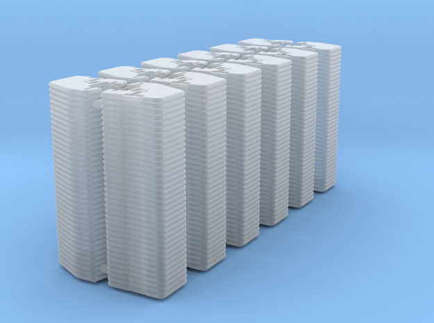 1/64 Front Weights 36 (12 Pieces) in Smooth Fine Detail Plastic