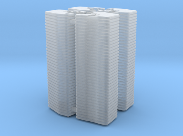 1/64 Front Weights 36 (4 Pieces) in Smooth Fine Detail Plastic