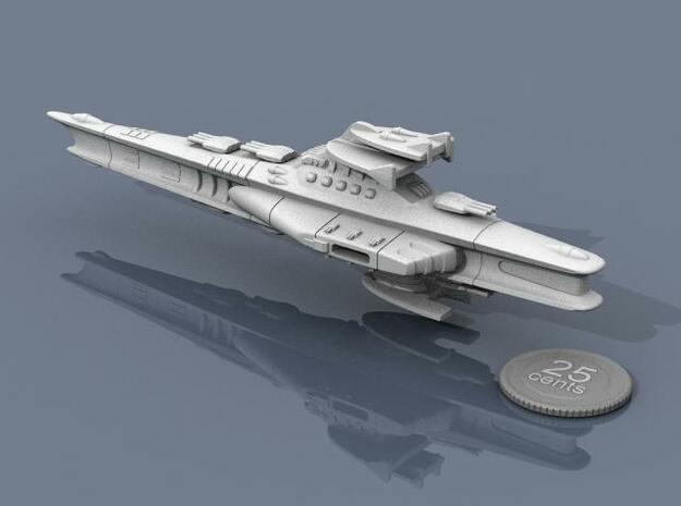 Novus Regency Battleship 3d printed Another view.