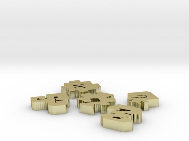 Emblems V.2 3d printed