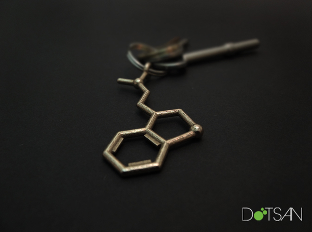 DMT Dimethyltryptamine Keychain