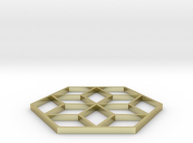 Escher Snowflake Staircase 2 Inch 3d printed