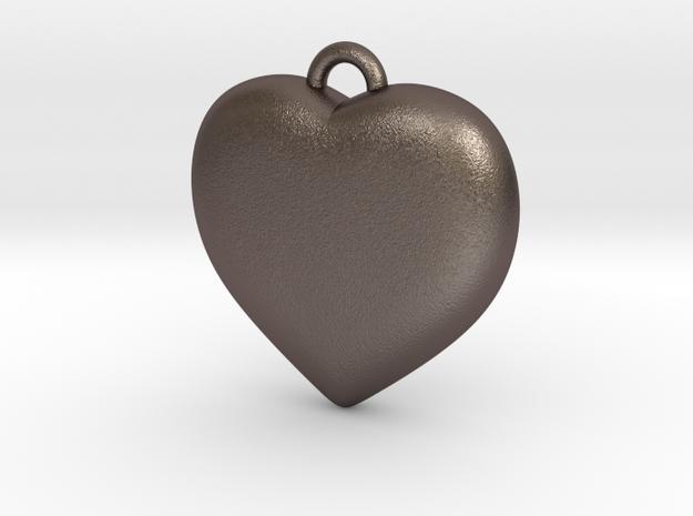 Heart Pendant in Stainless Steel