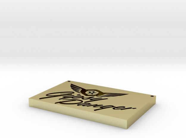 Gypsy Danger logo 3d printed