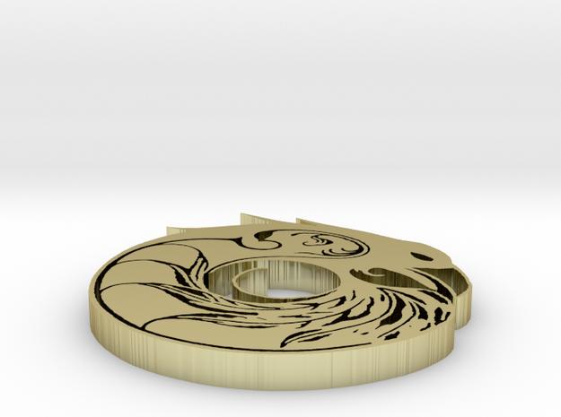 RavenMandela Metal 0.14 inch 3d printed