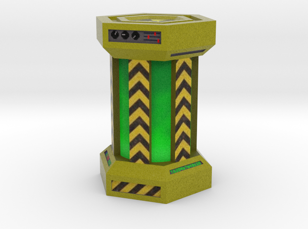 Game Piece, Power Grid, Uranium Canister Type 2