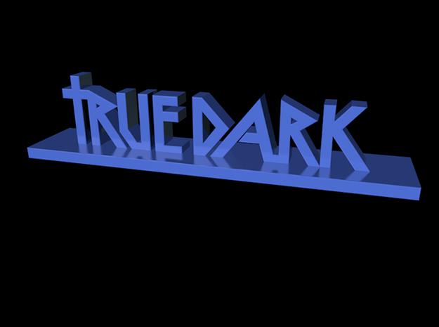 TrueDark Deskstand 3d printed