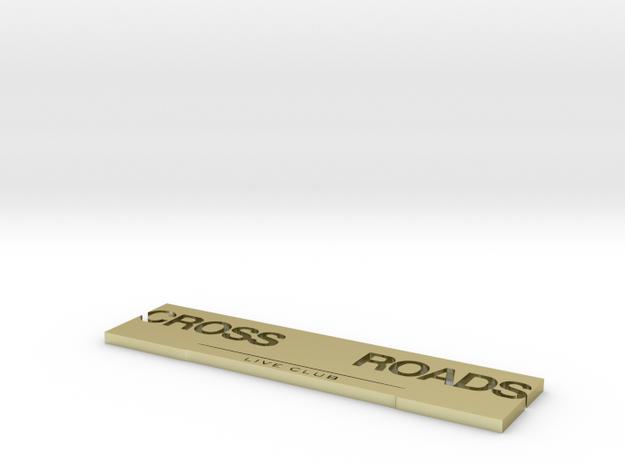 crossroads 3d printed