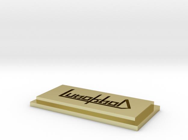 logo3d 3d printed