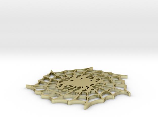 spider web pendant 3d printed
