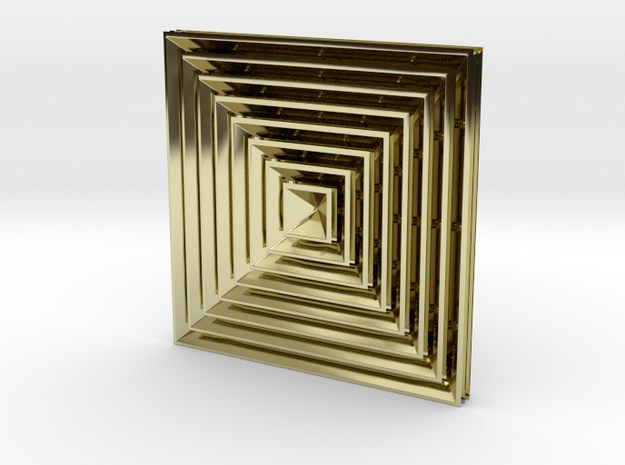 Pyramide8Klick BottomFlat3 3d printed