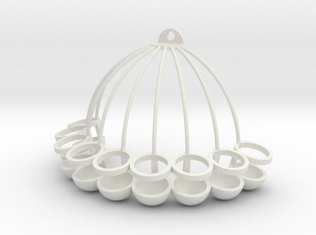 Wallflower - vase 3d printed
