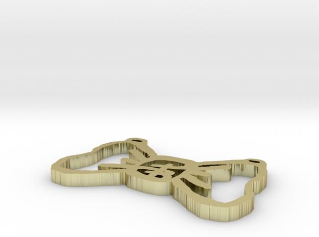 PB Single Bow Tie 1 inch 3d printed
